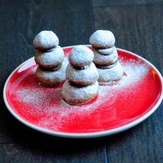 Snowman cookies – edible decorations