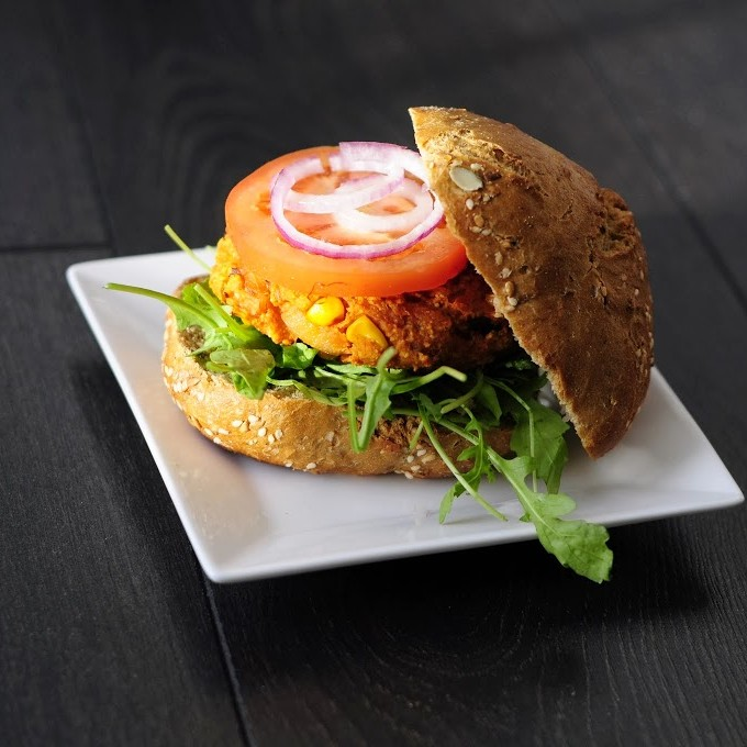 Simple and Sweet Potato Burgers