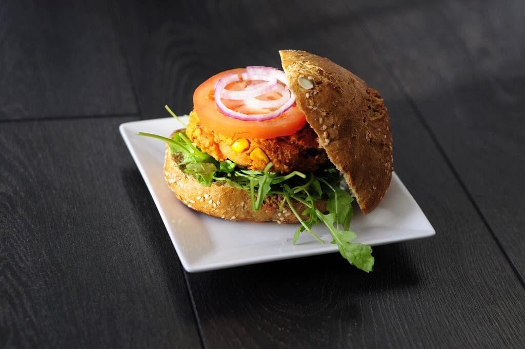 Simple and Sweet Potato Burgers - Vegan Family Recipes
