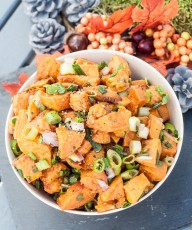 Cold Sweet Potato Salad Recipe GF - Vegan Family Recipes