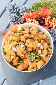 Cold Sweet Potato Salad Recipe GF - Vegan Family Recipes