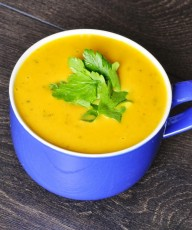 Sweet Potato Carrot Soup Recipe - Vegan Family Recipes