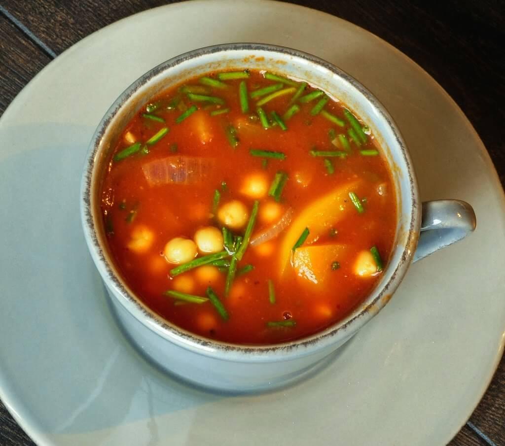 Chickpea Soup Recipe — Dishmaps