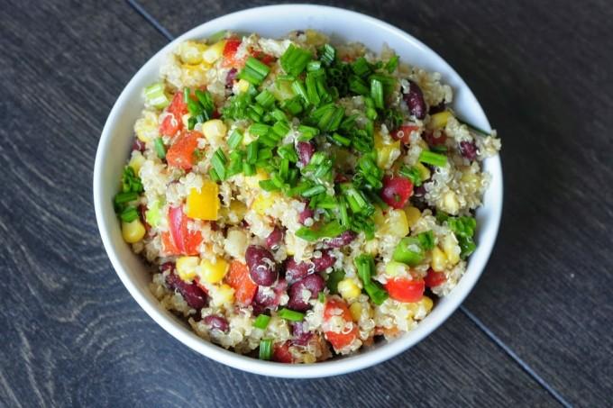 Southwest Quinoa Salad - Vegan Family Recipes