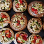 Vegan Stuffed Mushroom recipe with Garlic - Vegan Family Recipes