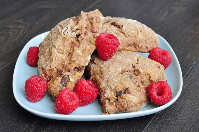Raspberry_Chocolate_Almond_Scones-2910-
