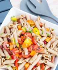 Summer Pasta Salad Recipe - Vegan Family Recipes