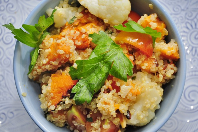 Sweet Potato Quinoa Salad recipes