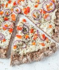 Coconut Garlic White Pizza Recipe - Vegan Family Recipes