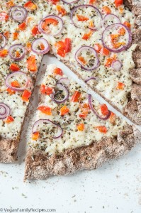 Coconut Garlic White Pizza Recipe - Vegan Family Recipes