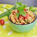Cold Red Lentil Salad Recipe - Vegan Family Recipes