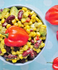 Habanero Corn Salad / Salsa - Vegan Family Recipes