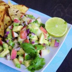 Avocado Peach Salsa Recipe - Vegan Family Recipes