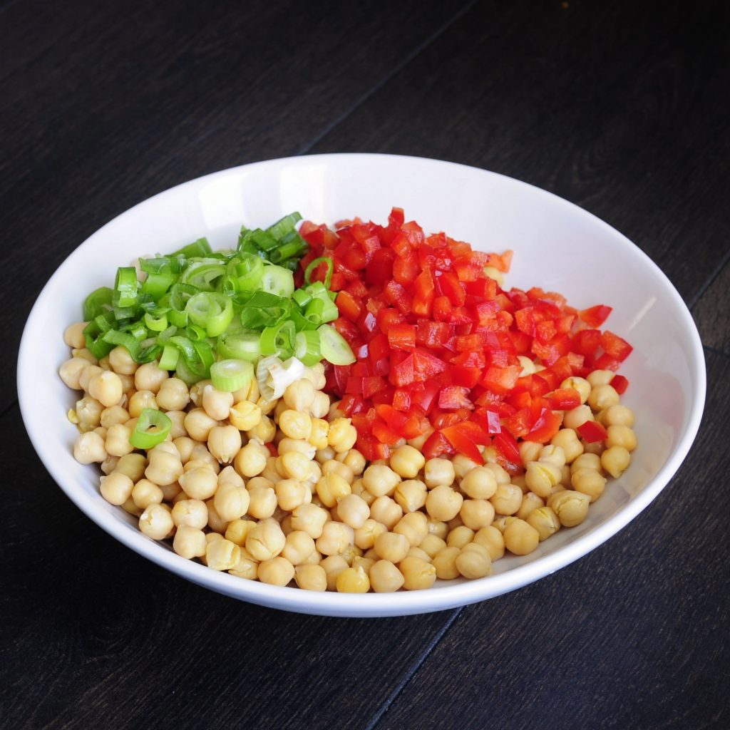 Easy Chickpea Salad Recipe - Vegan Family Recipes