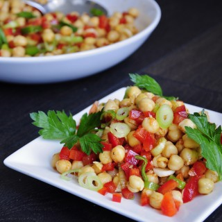Easy Vegan Chickpea Salad
