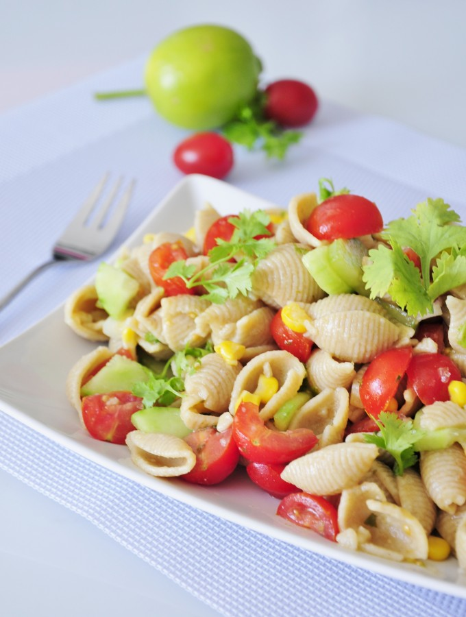 Vegan Pasta Salad Recipe - Vegan Family Recipes