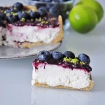 Gluten free Vegan Blueberry Lime Cheesecake Recipe - Vegan Family Recipes
