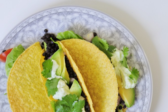 Lentil taco recipe - Vegan Family Recipes