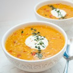 Curried Red Lentil Soup Carrots - Vegan Family Recipes