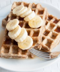 Whole Wheat Waffles Recipe - Vegan Family Recipes blog