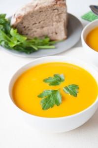 Easy Ginger Carrot Soup - Vegan Family Recipes