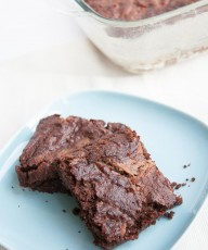 Brownies with Caramel - Vegan Family Recipes