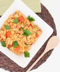 Easy Bulgur Salad Recipe - Vegan Family Recipes