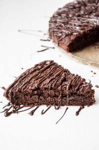 Dark Chocolate Olive Oil Cake Recipe - Vegan Family Recipes
