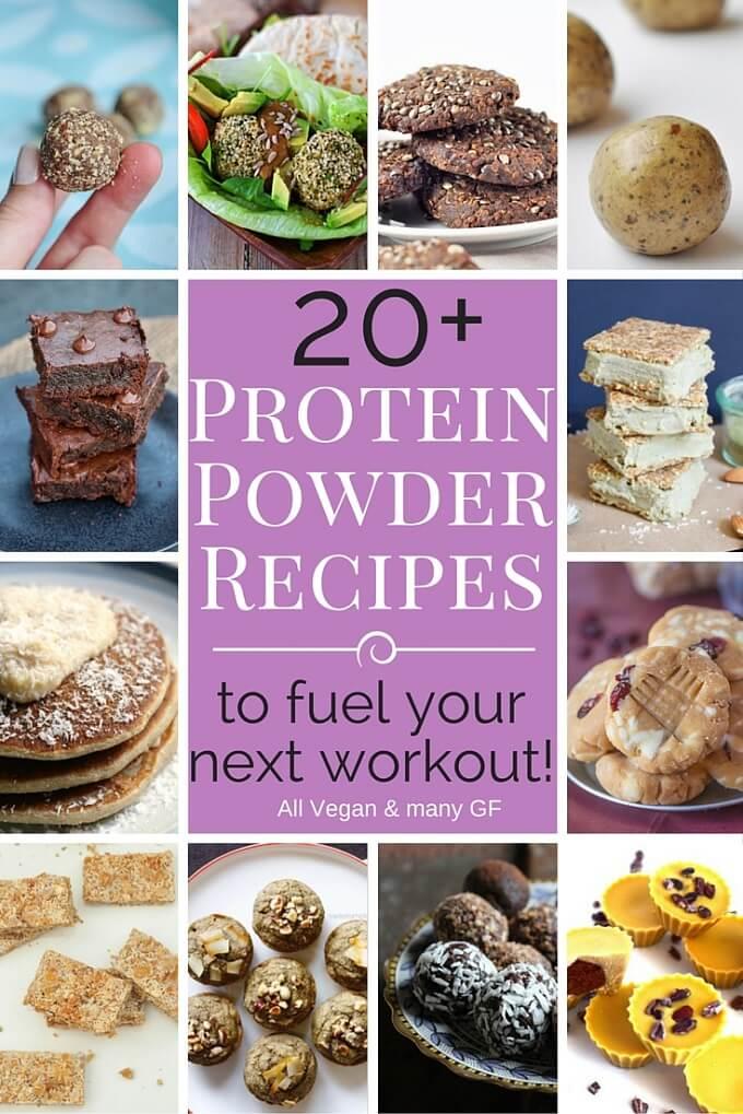 20+ Protein Powder Recipes