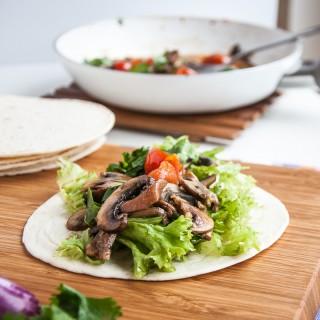 Healthy Vegan Mushroom Tacos