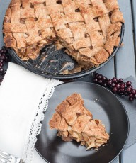 Vegan Whole Wheat Apple Pie Recipe - Vegan Family Recipes