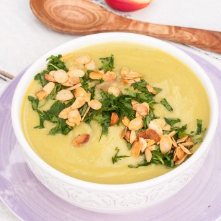 Healthy Potato Pea Soup
