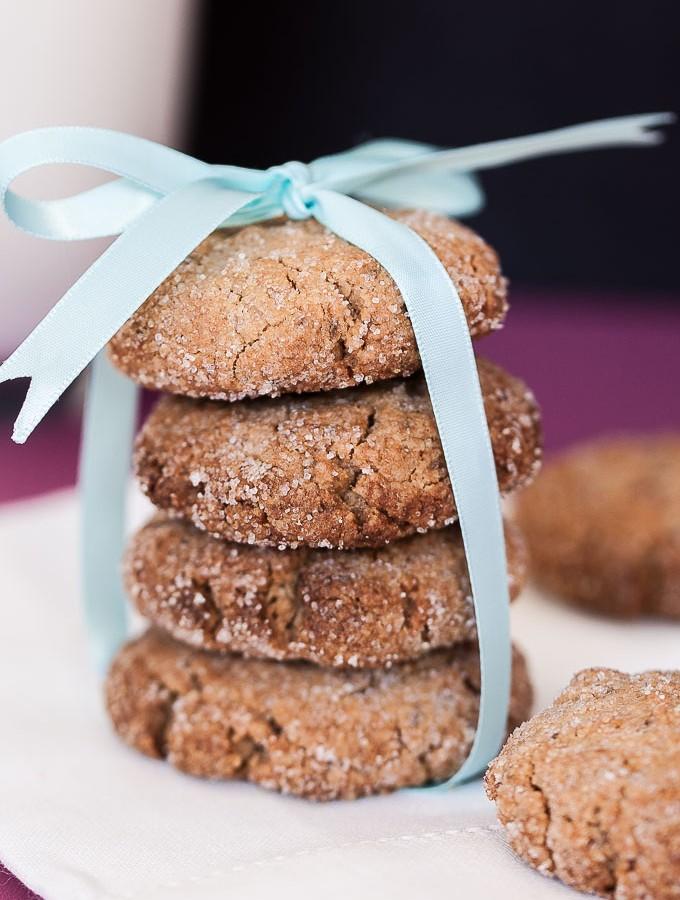 Peanut Butter Chia Seed Cookies Recipe | VeganFamilyRecipes.com | #vegan #dessert