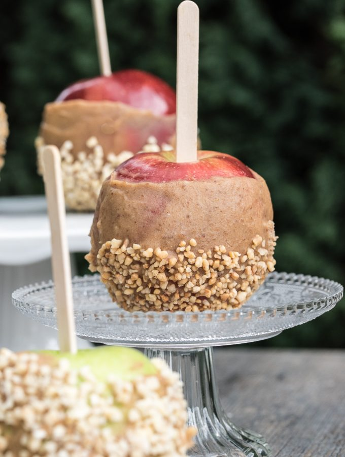 Raw Vegan Caramel Apples