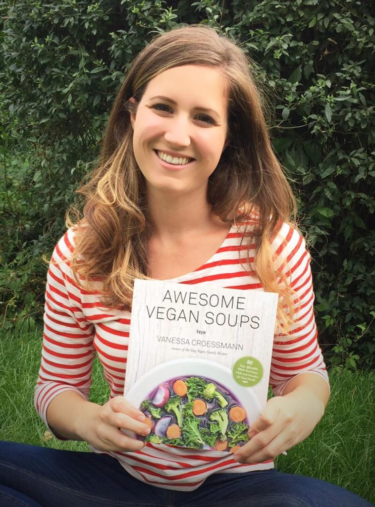 Awesome Vegan Soups Vanessa Croessmann Cookbook seasonal cookbook